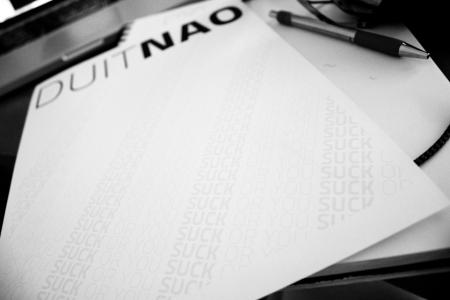 DUIT NAO... or you SUCK